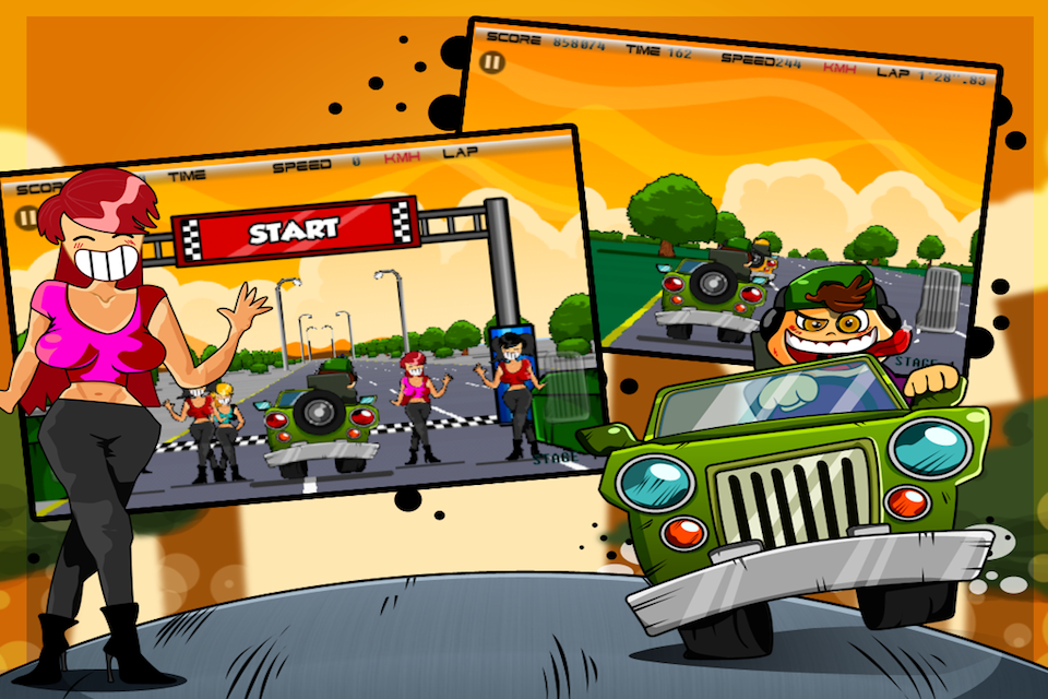 Screenshot Cool Racers Pro